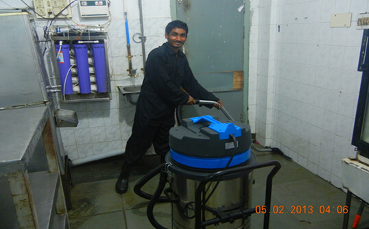 Industrial vacuum deep cleaning service in Chennai