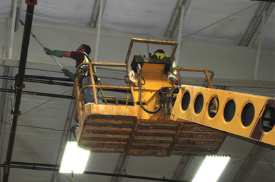 Industrial Roof and Cobweb Cleaning Services in Chennai