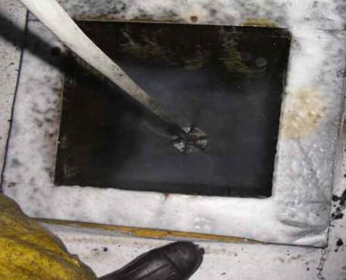VIRTICAL DUCTCLEANING WITH JET SPINNER